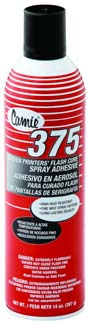 MS375 - Screen Printers Flash Cure Adhesive