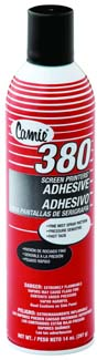 MS380 - Screen Printers Adhesive