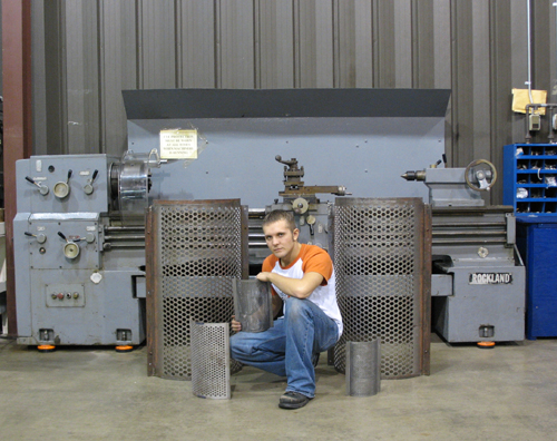 Check out our Granulator Screen
